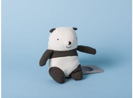 Maileg Noah's Friends Panda schwarz weiß Mini Kuscheltier Noahs Freunde 12 cm Stofftier