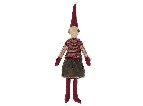 Maileg Püppchen warmes kuescheliges Outfit Winterzeit Dekoration Pixy Figur Klein Nr.14-1420-04