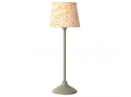 Maileg Stehlampe Miniature Lamp Mint Grün mit Lampenschirm Baumwolle Maileg Nr 11-0116-00