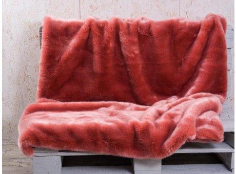 Pad Decke Sheridan lachs Felldecke rosa