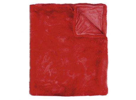 Pad Decke Sheridan rot Pad Concept Felldecke aus Kunstfell
