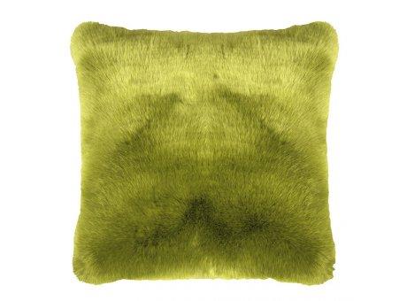 Pad Kissen Sheridan Fellkissen grün pad concept Kissenhülle 45x45