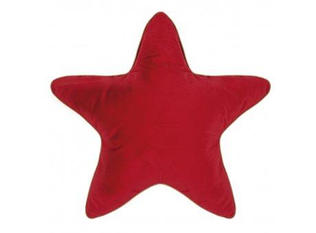 Pad Kissen Superstar rot großes Stern Kissen 60x60 mit Füllung Pad Concept Weihnachtsdeko