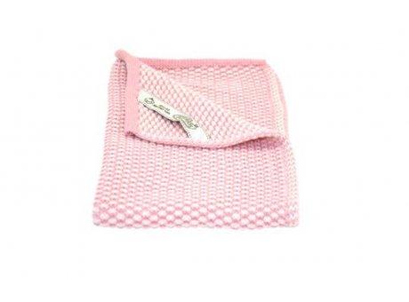 Solwang Gäste Handtuch Antik Rosa Hell Natur Bio Baumwolle gestrickt 32x47 cm Solwang Tuch Nr BH02103