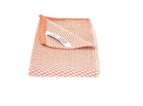 Solwang Gäste Handtuch Masala Orange Braun Natur Bio Baumwolle gestrickt 32x47 cm Solwang Tuch Nr BH0295
