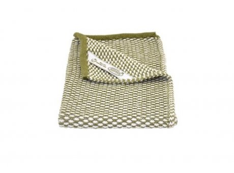 Solwang Gäste Handtuch Olive Natur Bio Baumwolle gestrickt 32x47 cm Solwang Tuch Nr BH0232