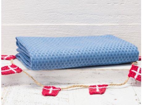 Solwang Geschirrtuch blau Organisch Geschirrhandtuch aus 100% biologische Baumwolle 50x70 cm in hellblau