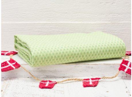 Solwang Geschirrtuch grün Organisch Geschirrhandtuch aus 100% biologische Baumwolle 50x70 cm in hellgrün