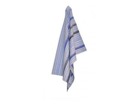 Solwang Geschirrtuch Streifen Multi Blau Bio Baumwolle gestrickt 50x70 cm Solwang Geschirrhandtuch Nr OV28