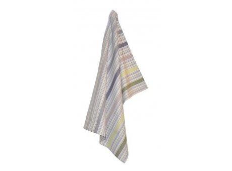 Solwang Geschirrtuch Streifen Multi Staubig Pastell Bio Baumwolle gestrickt 50x70 cm Solwang Geschirrhandtuch Nr OV37