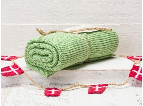 Solwang Handtuch Dunkelgrün Staubig Küchentuch Baumwolle gestrickt in grün H45