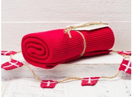 Solwang Handtuch Dunkelrot Küchentuch Baumwolle gestrickt in dunklem rot ton H77
