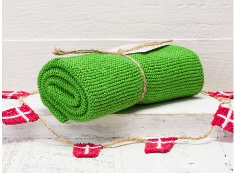 Solwang Handtuch Frisches Dunkelgrün Küchentuch Baumwolle gestrickt in grün H51