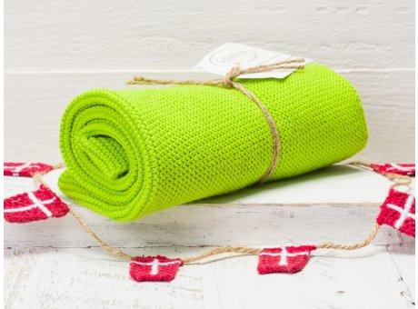 Solwang Handtuch Frisches Hellgrün Küchentuch Baumwolle gestrickt in grün H49