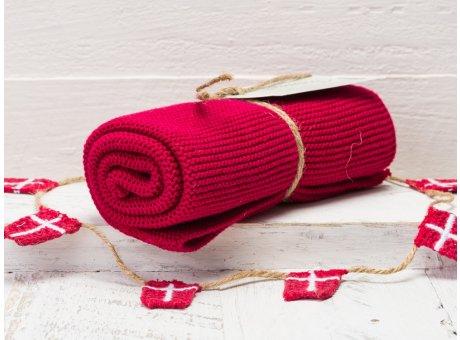 Solwang Handtuch Himbeere Dunkel Küchentuch Baumwolle gestrickt dunkler Beeren ton H65