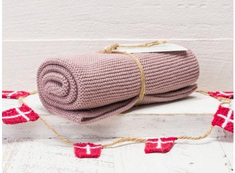 Solwang Handtuch Staubig Rosa Küchentuch Baumwolle gestrickt in rosa H57