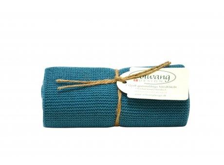 Solwang Küchentuch Azur Blau Geschirrtuch aus Baumwolle Solwang Design H117