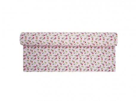 Tischläufer Romantic Flower rosa pink Blumen bunt Krasilnikoff Tischdecke