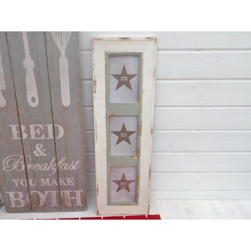 wei er bilderrahmen newcastle f r 3 fotos hier bestellen. Black Bedroom Furniture Sets. Home Design Ideas