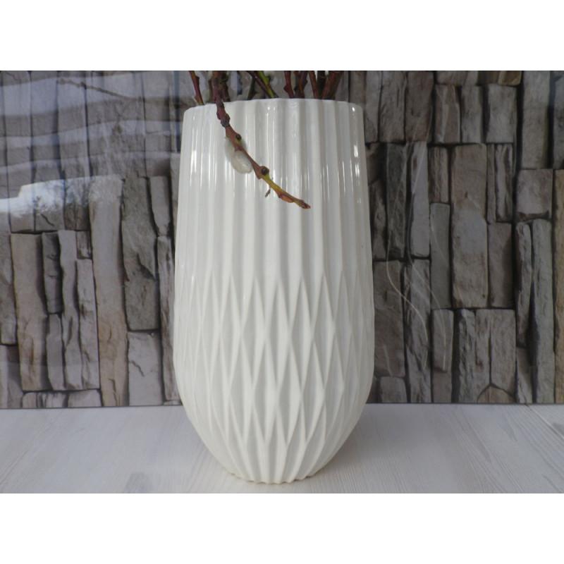 vase frieda grosse weisse blumenvase aus keramik hier kaufen