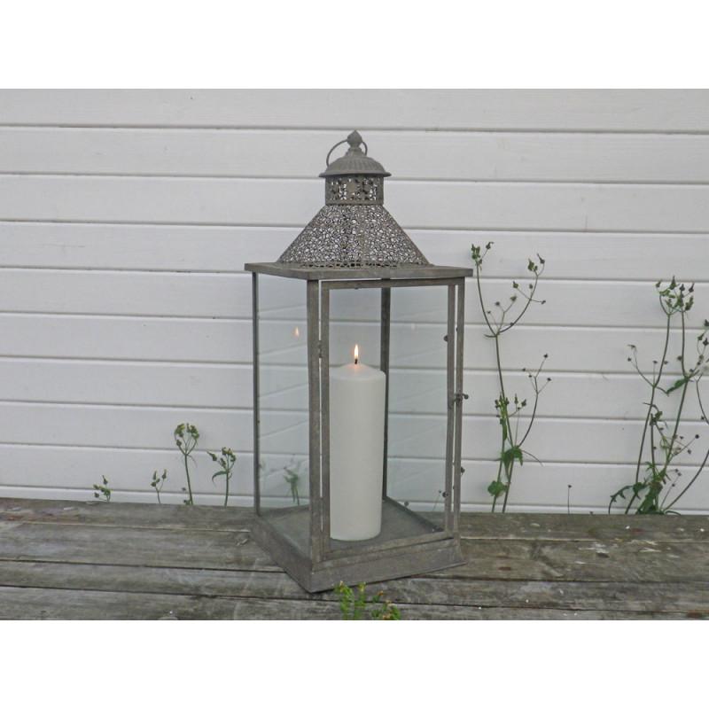Laterne Celine Gartenlaterne 69 Cm Metall Windlicht