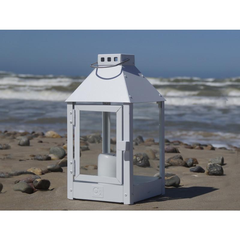 a2 living allwetter laterne mini wei pulverbeschichtet. Black Bedroom Furniture Sets. Home Design Ideas