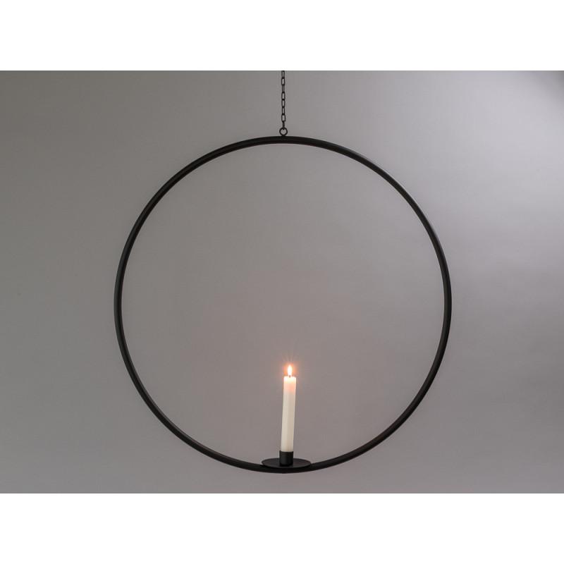Affari Kerzenhalter Hänger Axel groß aus Metall mit Kette mit Kerze