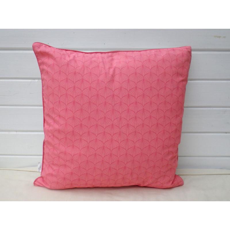 A u maison kissen 50x50 pink t rkis wohnhaus welten for Au maison kissen