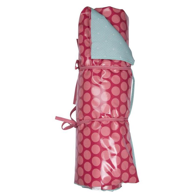 AU Maison Picknickdecke Dots pink Punkte türkis