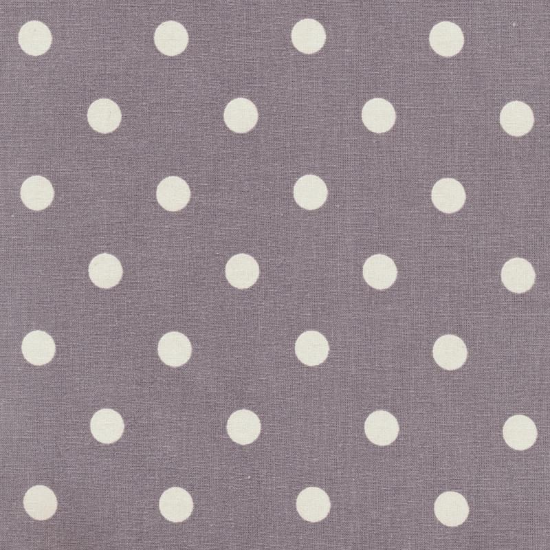 AU Maison Wachstuch Dots Big Misty Rose Baumwolle Tischdecke DIY große Punkte Altrosa 140 cm