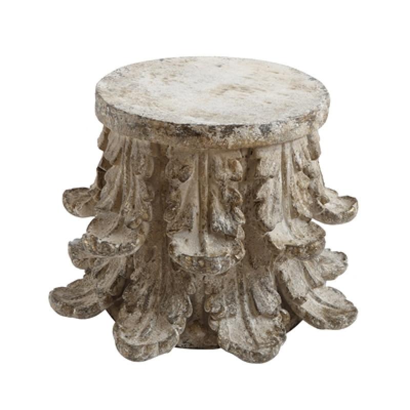 Bloomingville Beistelltisch Chateau rund extravaganter Tisch aus Metall
