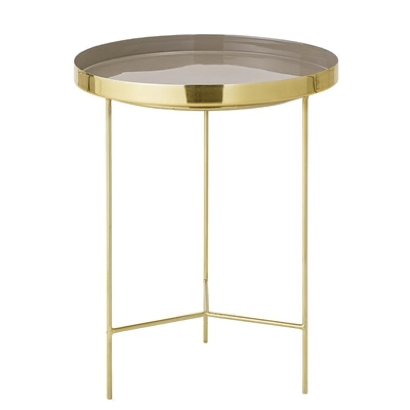 Bloomingville Beistelltisch gold braun 40 cm