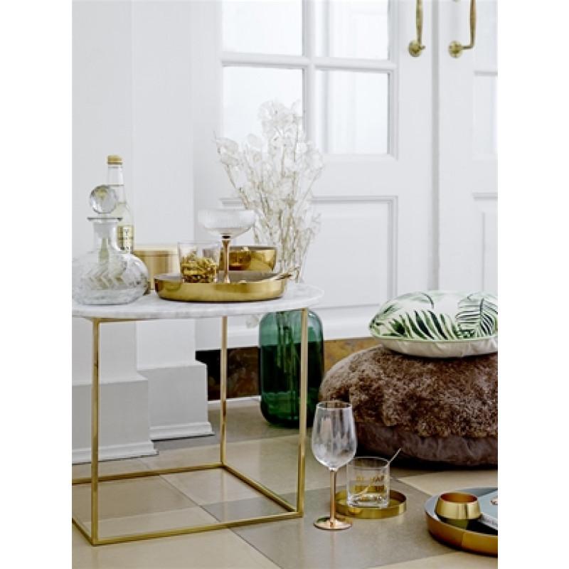 deko tablett matt gold braun lackiert bloomingville. Black Bedroom Furniture Sets. Home Design Ideas