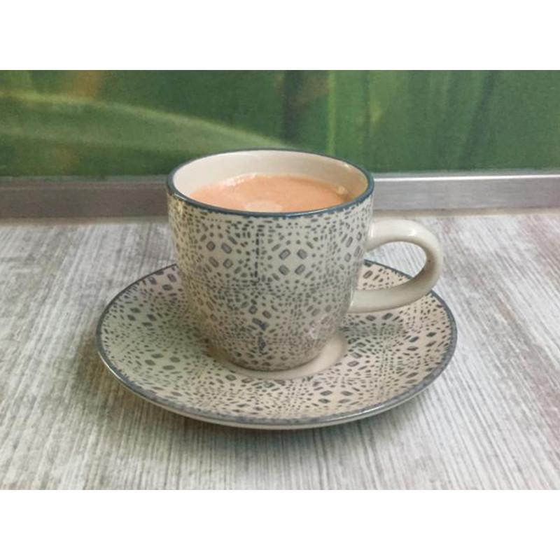 Bloomingville Espresso Tasse und Untertasse aus Keramik Kollektion Isabella