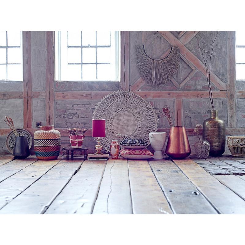 Bloomingville Korb Seegras Multi Color Deko Vase bunt modern