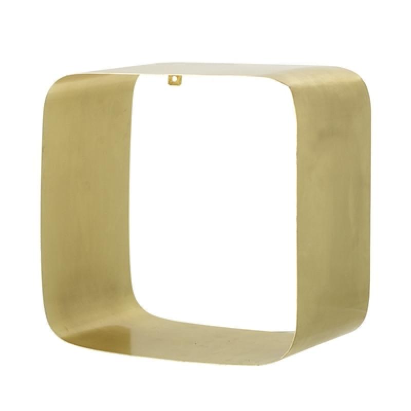 Bloomingville Regal 30 cm gold aus Metall