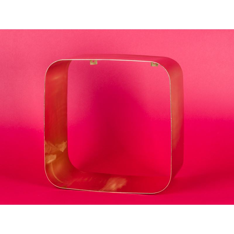 Bloomingville Regal gold Metall Display quadratisch 30 cm