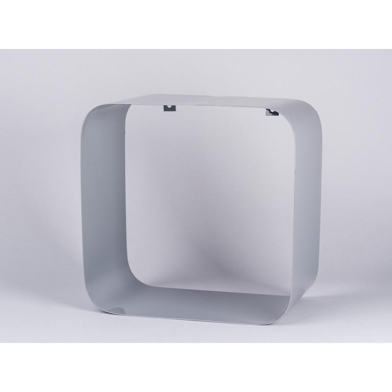 Bloomingville Regal grau Metall Display Box quadratisch 30x30 cm