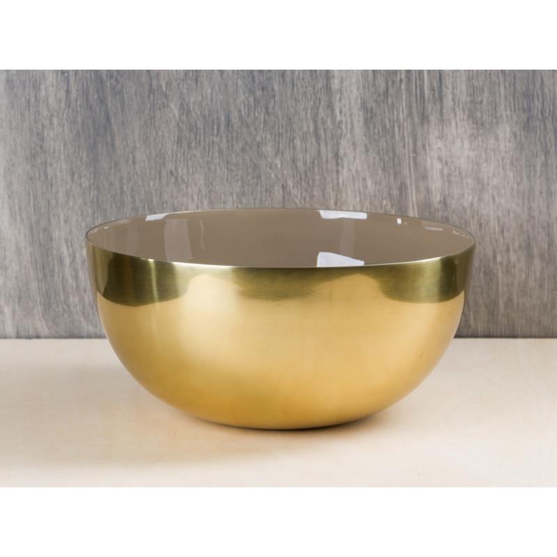 Bloomingville Schale gold braun 20 cm