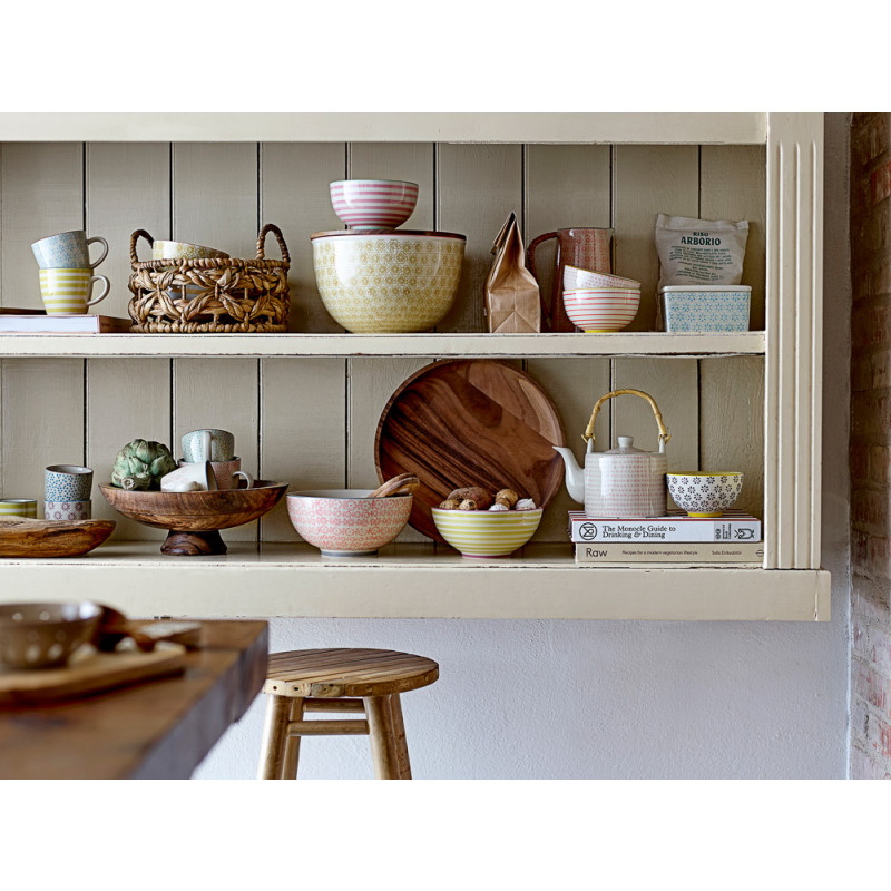 Bloomingville Schale Mango Holz Servierschale oder Snackschale groß und klein Küche Ostschale