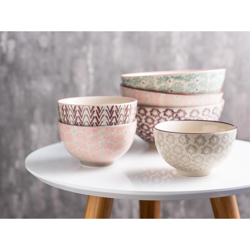 Bloomingville Schale Müslischale MAYA Keramik Geschirr klein und groß alle Farben Beistelltisch