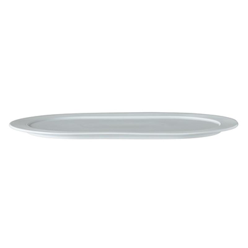 Bloomingville Servierplatte oval 32 cm Geschirr Serie Ice großer Teller