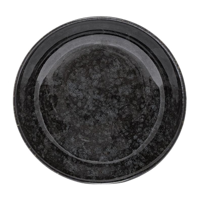 Bloomingville Suppenteller Noir Keramik Geschirr schwarz Schale 20 cm