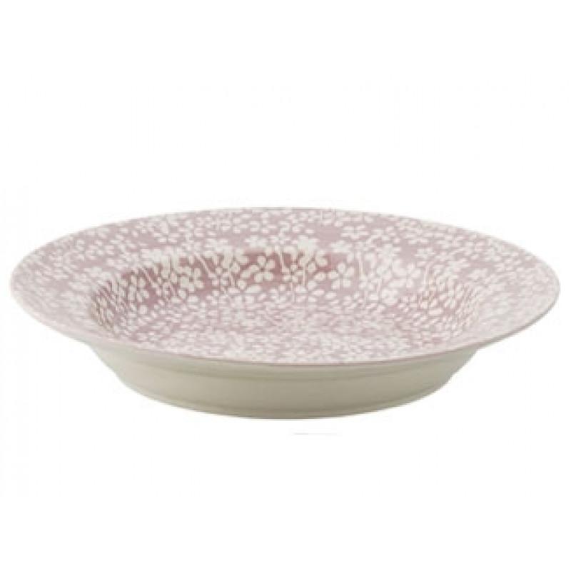 Bloomingville Suppenteller Seeke rosa Keramik Teller