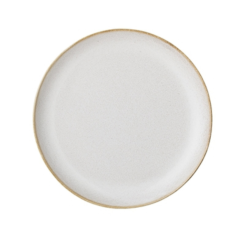 Bloomingville Teller Carrie 20 cm Keramik Geschirr creme beige