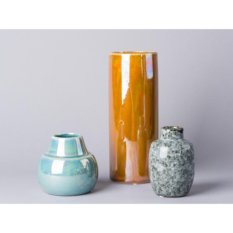 bloomingville vase metallic bei wohnhaus welten. Black Bedroom Furniture Sets. Home Design Ideas