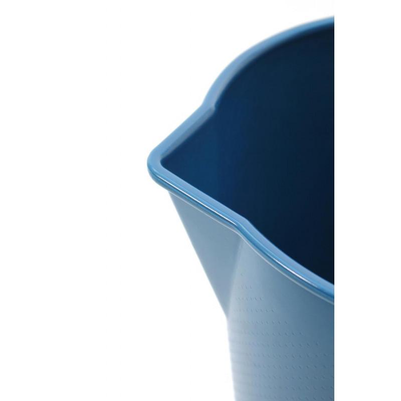 Drop Eimer blau mit Ausgießer Xala Design aus Belgien