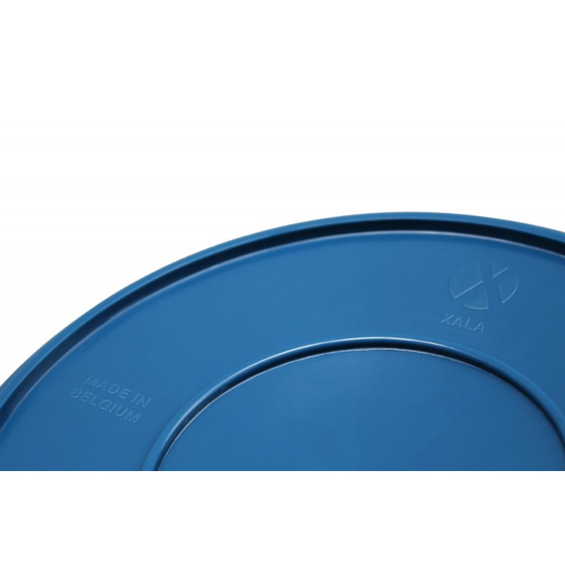 Drop Eimer blau Xala Design hergestellt in Belgien
