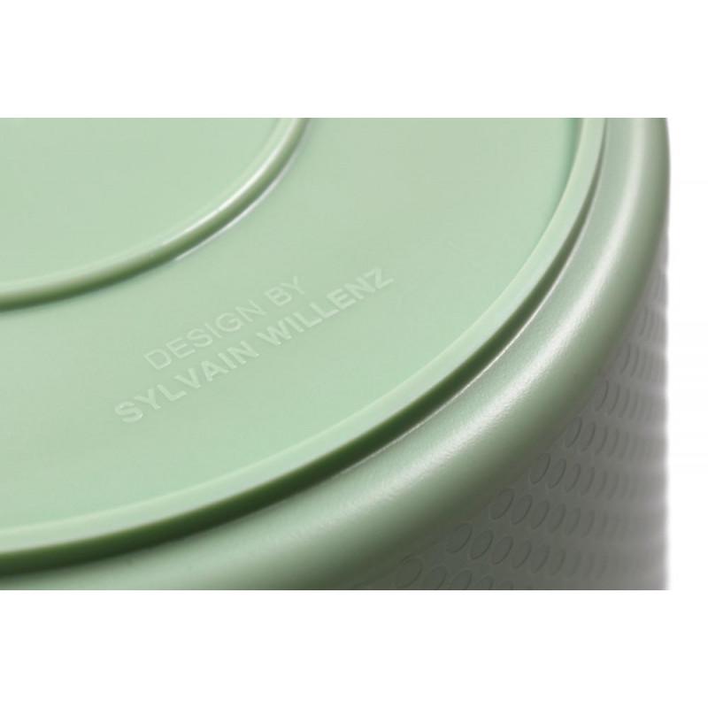 Drop Eimer grün Xala Design by Sylvain Willenz hergestellt in Belgien