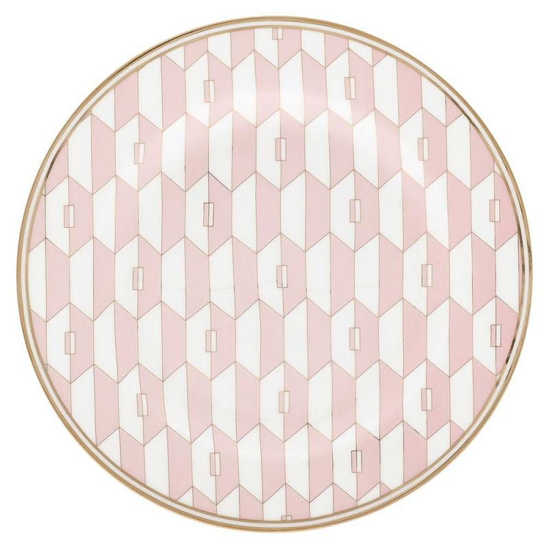Gate Noir Teller Aurelie Pale Pink Greengate Kuchenteller rosa 20 cm